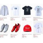 ウェブストアの更新:サマーセール商品 (Tシャツ、ビンテージシャツ、シューズ類など)