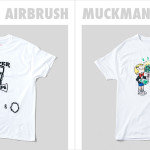 MUCKMAN AIR BRUSH JAPAN : Paper&Ink , Fifth General Store Limited Tシャツ