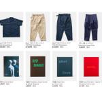ウェブストアの更新:TUKI blous Pilotpants、イタリア軍ミリタリートレーナー、書籍など