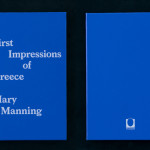 書籍の紹介:First Impressions of Greece by Mary Manning