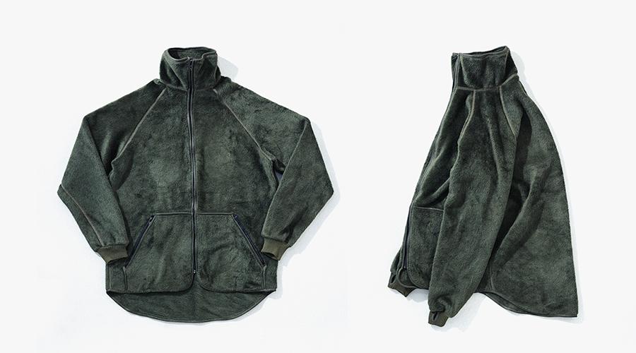 NL Fleece JKT Green