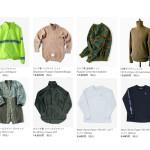 ウェブストアの更新:ロシア軍ボアジャケット、ハイネックニット、フランス軍ステンカラーコート、Samepaper L/S Tシャツなど