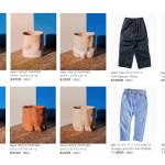 ウェブストアの更新:GROUP PARTNERセラミック、Levi's 501、TUKI パジャマパンツ など